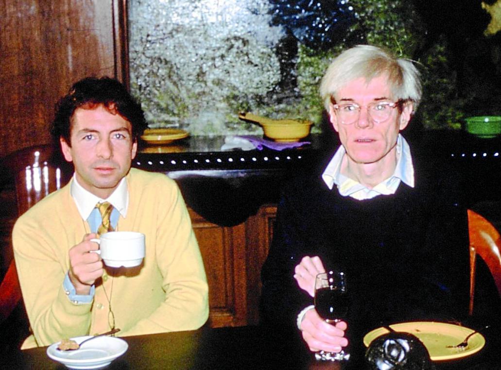 Carlos Matorel y Andy Warhol toman cafe