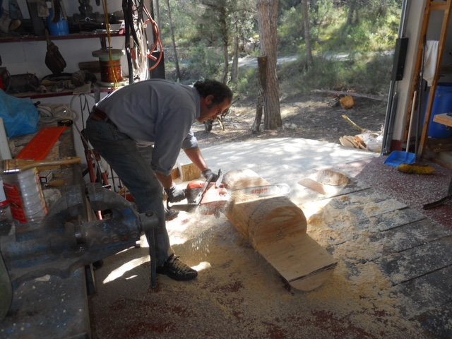 gustavo Eznarriaga proceso, nucleo arte en Ibiza